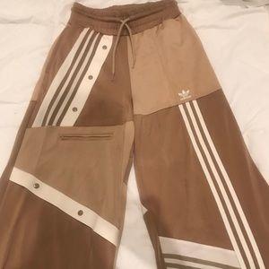 Danielle Cathari Adidas tan pants